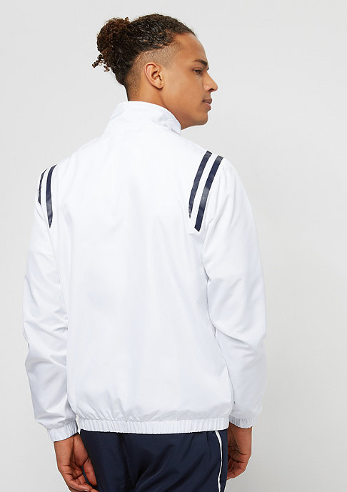 Lacoste Tracksuit white/navy blue