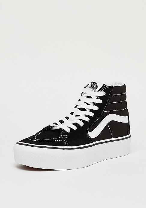 VANS UA SK8-HI Platform 2 black/true white