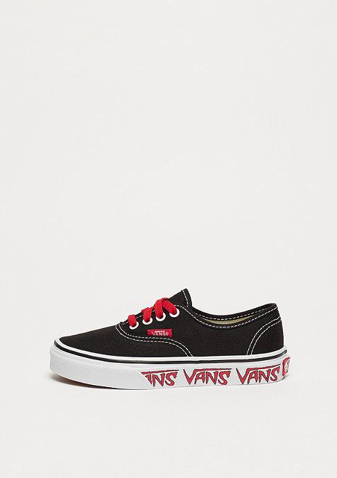 VANS UY Authentic sketch side black/red