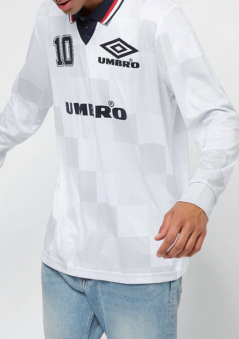 Umbro Monaco LS Football Tee white