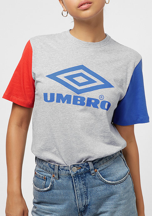 Umbro wmn Projects Tricol grey marl/lava/tw royal