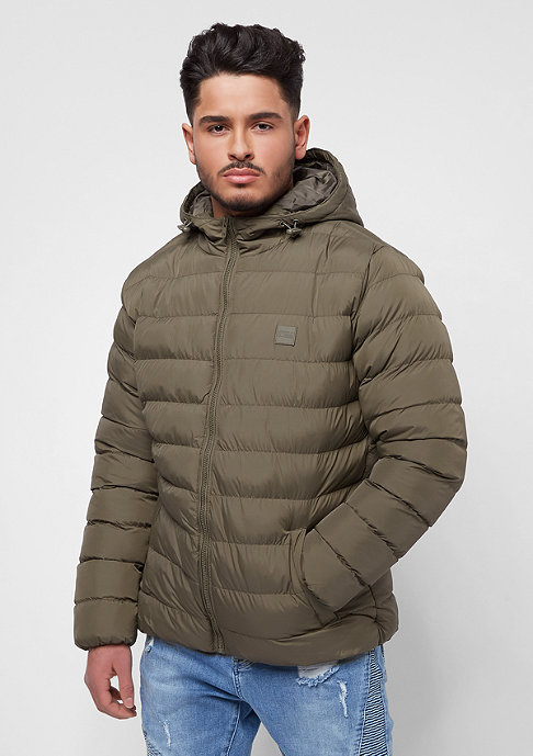 Urban Classics Basic Bubble Jacket army green