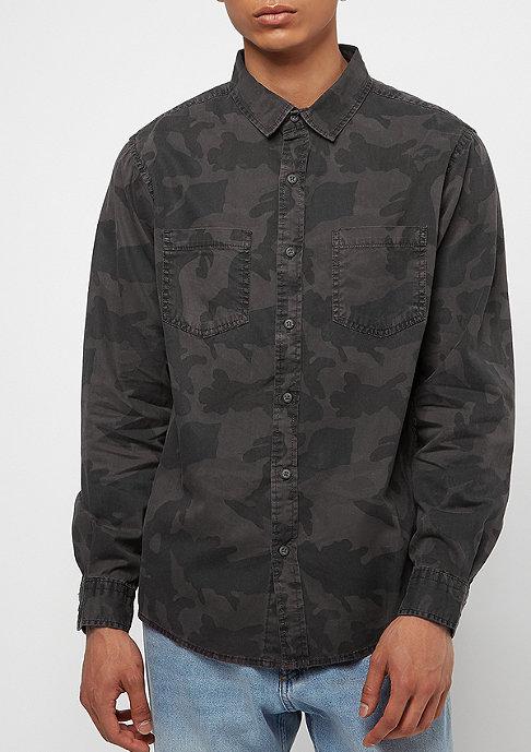 Urban Classics Camo Shirt dark camo