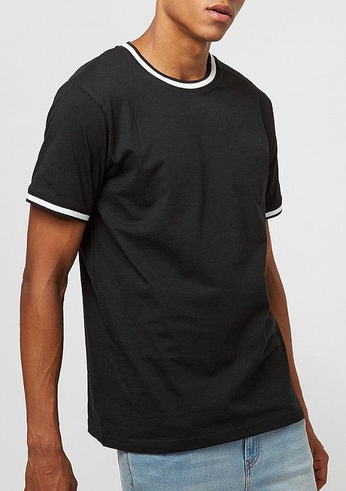 Urban Classics College Pocket Tee black white