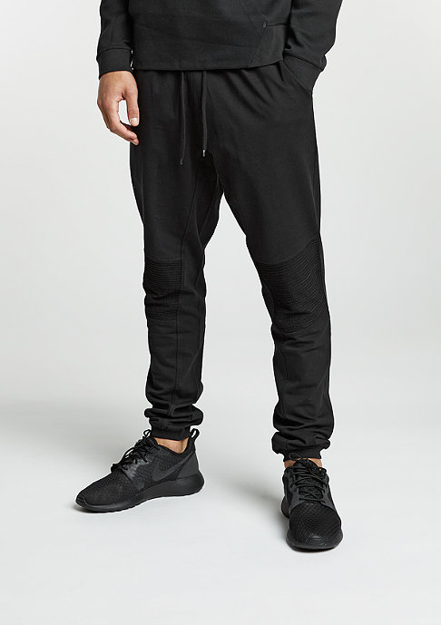 Urban Classics Trainingshose Deep Crotch Terry Biker black