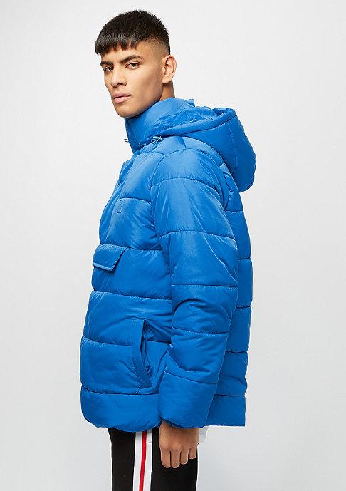 Urban Classics Pull Over Puffer bright blue