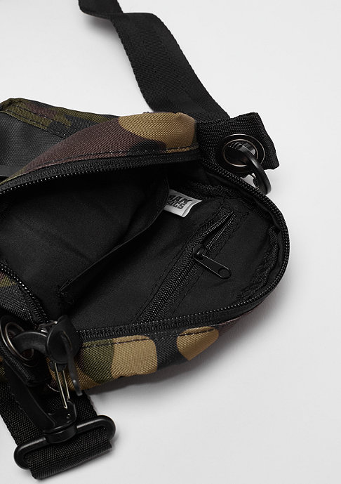 Urban Classics Small Crossbody Bag wood camo