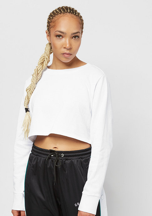 Urban Classics Terry Cropped white
