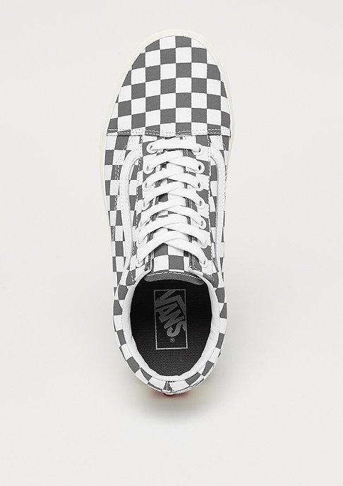 VANS Old Skool Checkerboard pewter/marshmallow
