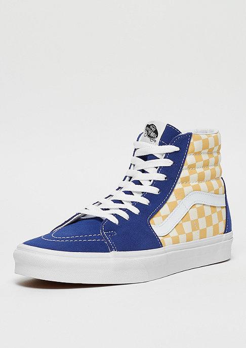 VANS SK8-Hi (Checkerboard) true blue/yellow