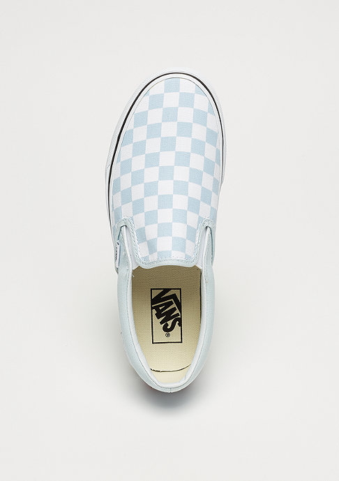 VANS UA Classic Slip-On (Checkerboard) baby blue/true white
