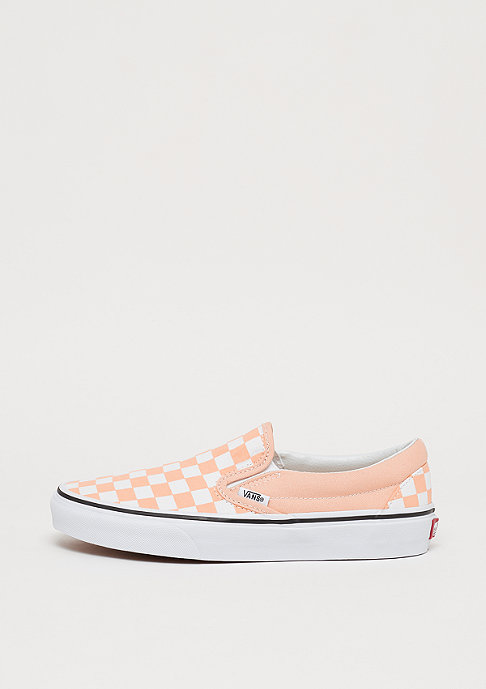 VANS UA Classic Slip-On checkerboard bleached apricot/true white