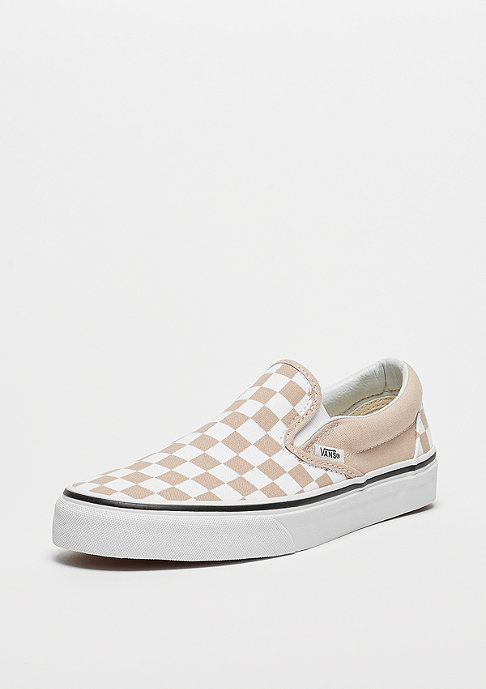 VANS UA Classic Slip-On (Checkerboard) frappe/true white