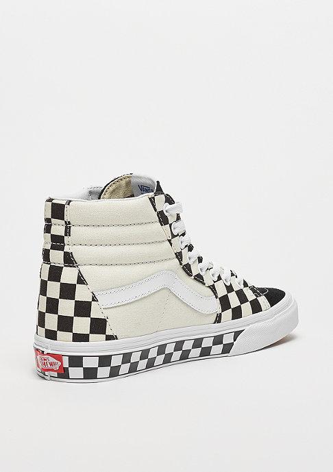 VANS UA SK8-HI checker sidewall (Checkerboard) black/true white
