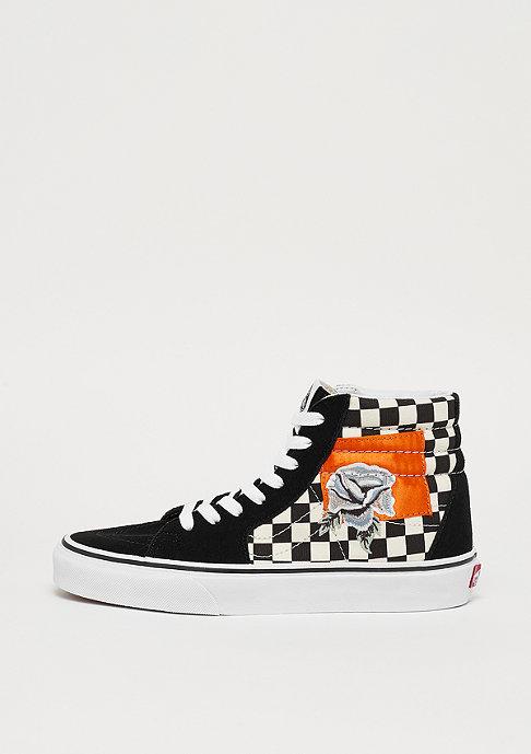 VANS UA SK8-HI (Checkerboard) satin patchwork checker/black