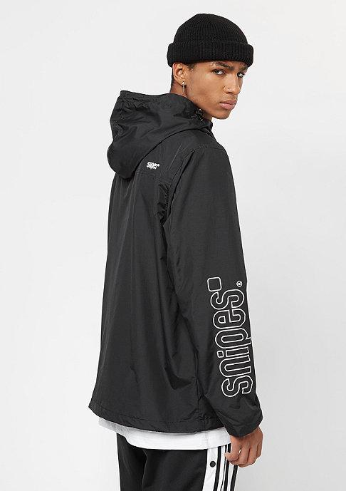 SNIPES Windbreaker black/white