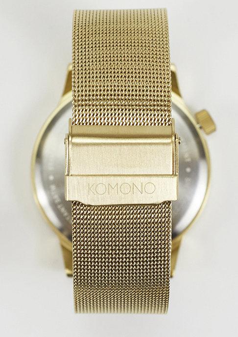 Komono Uhr Winston Royale gold/white