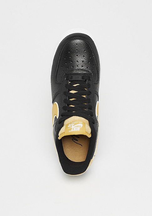 NIKE Wmns Air Force 1 black/wheat gold