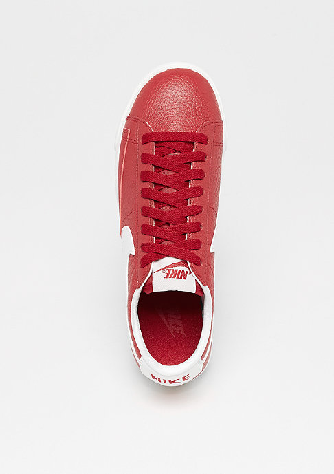 NIKE Wms Blazer Low Premium gym red/white-gym red-sail