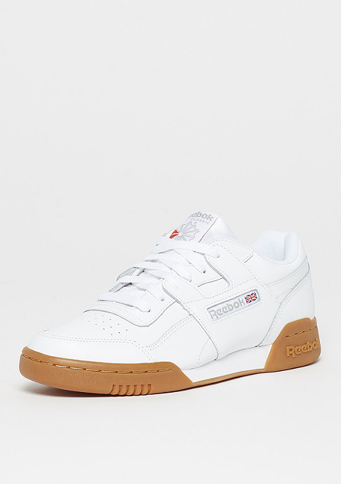 Reebok Workout Plus white/gum