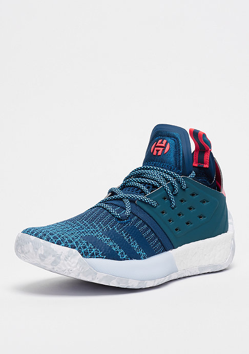 adidas Performance Harden Vol.2 real teal/hi-res red/bold gold