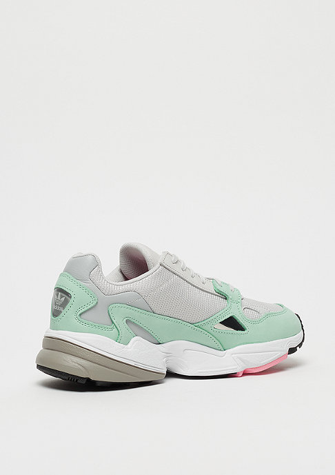 adidas Falcon grey one / grey one / easy green