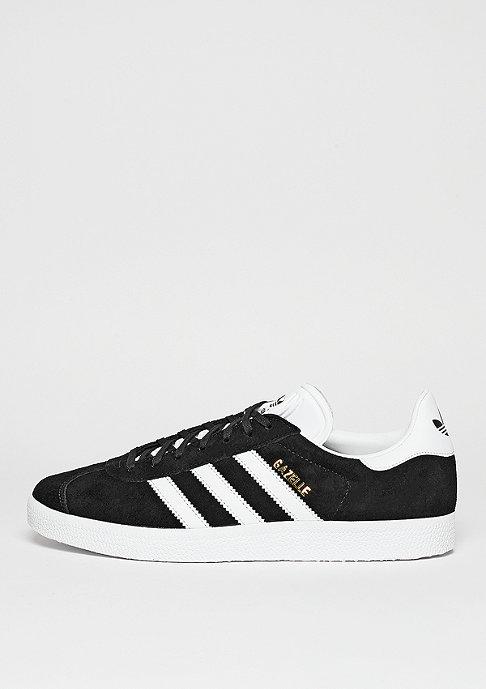 adidas Gazelle core black/white/gold metallic