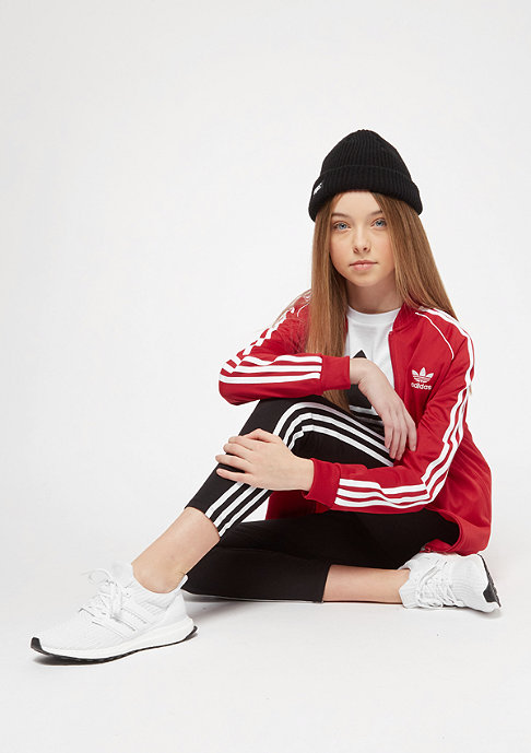 adidas Junior SST Trainingsjacke rot