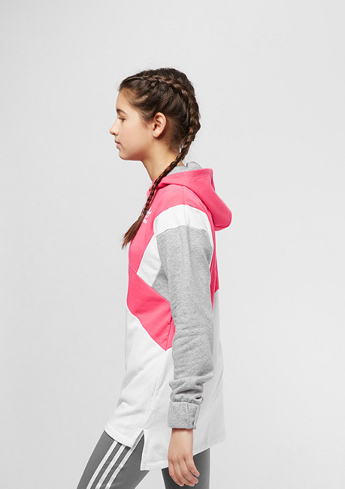adidas Junior French Terry pink/white/grey