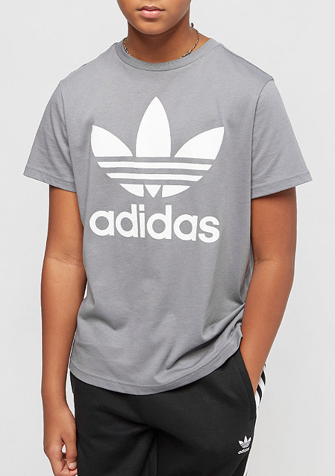 adidas Junior Trefoil grey/white