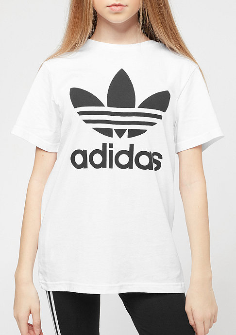 adidas Kids Trefoil white/black