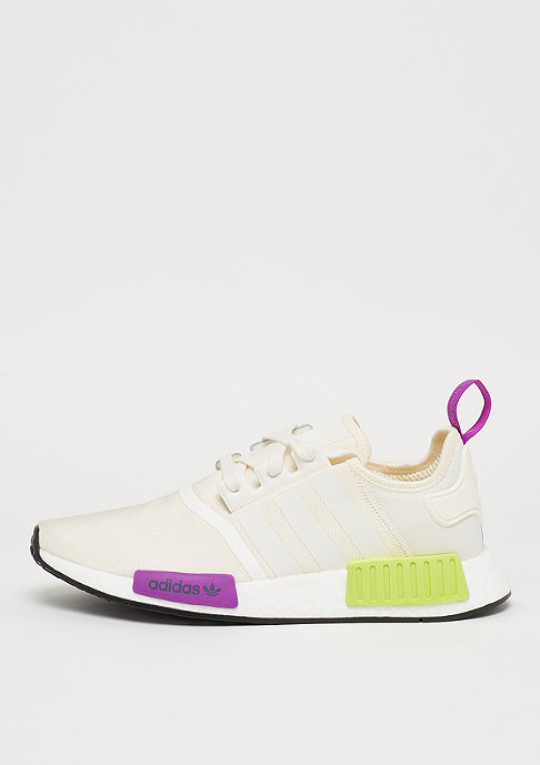 adidas NMD_R1 chalk white/chalk white/semi solar yellow