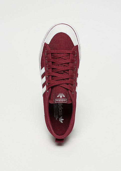 adidas Nizza collegiate burgundy/ftwr white/crystal white