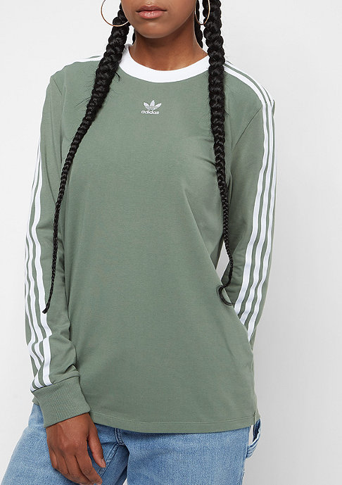 adidas 3 Stripes trace green