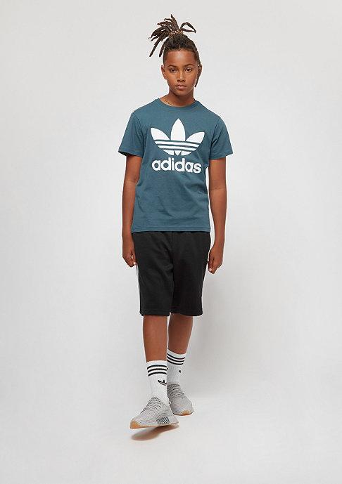 adidas Junior Trefoil blanch blue/white
