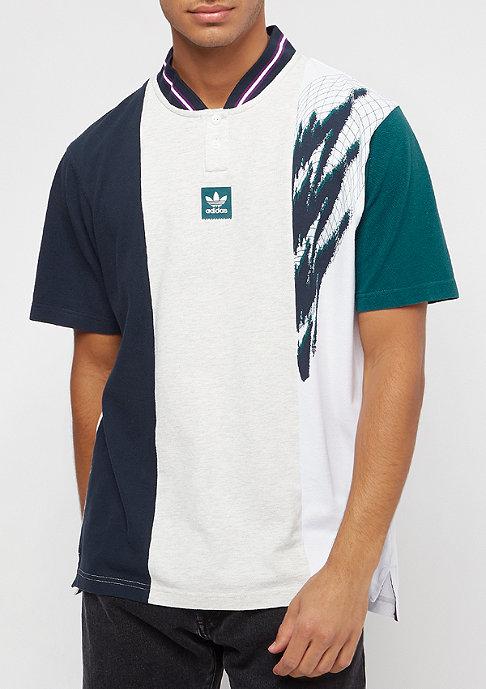adidas Tennis pale melange/ collegiate navy/ real teal