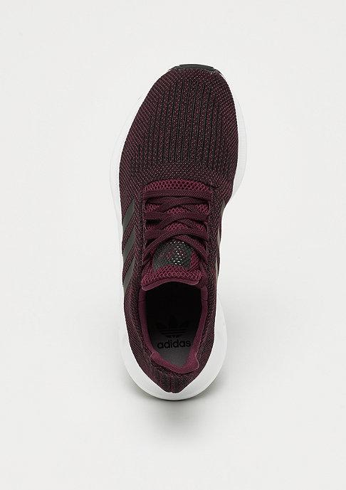 adidas Swift Run maroon/core black/white