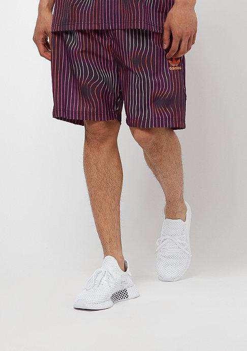 adidas Warped Stripes Swimshort purple