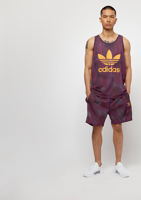 adidas Warped Stripes Tank purple