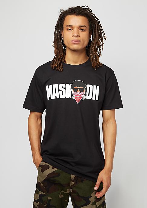 Mister Tee Mask On Mask Off black