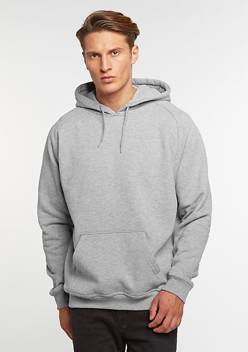 Urban Classics Hooded-Sweatshirt Blank grey