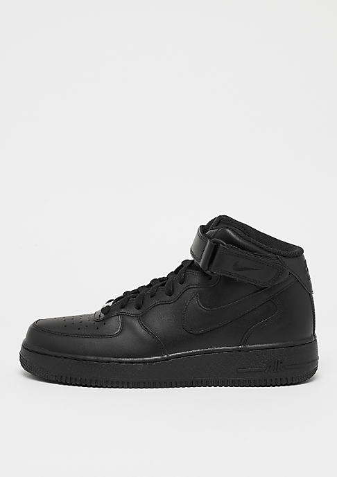 NIKE Basketballschuh Air Force 1 07 Mid black/black