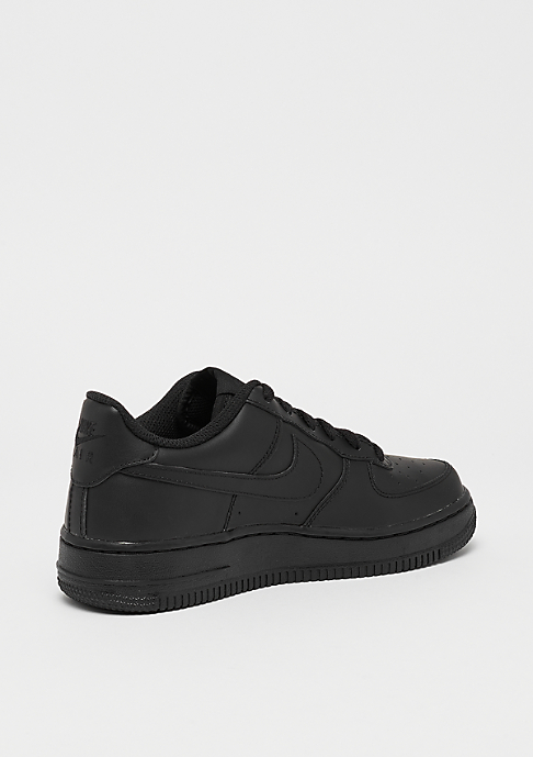 NIKE Air Force 1 (GS) black/black