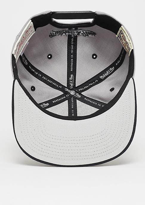 Mitchell & Ness Snapback-Cap Arch 2Tone NBA Chicago Bulls grey/black
