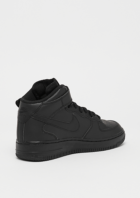 NIKE Air Force 1 MID (GS) blk/blk