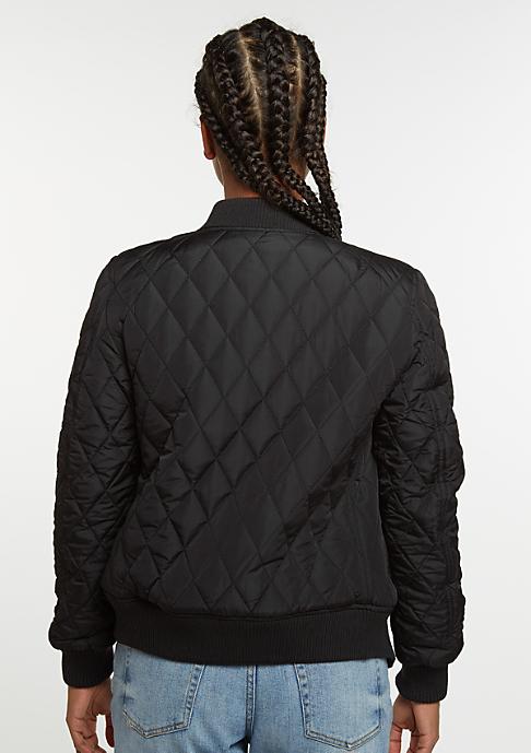 Urban Classics Jacke Diamond Quilt Nylon black