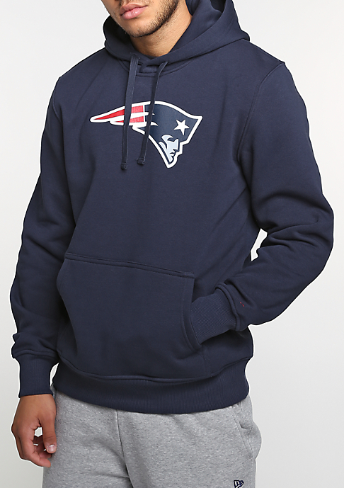 New Era Hooded-Sweatshirt New England Patriots Team Logo navy