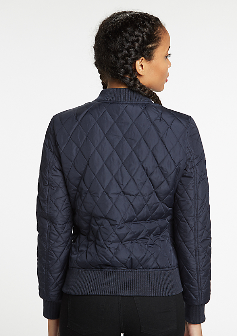 Urban Classics Jacke Diamond Quilt Nylon navy