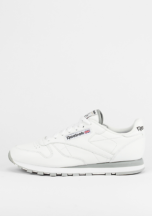 Reebok Schuh Classic Leather white/l.grey