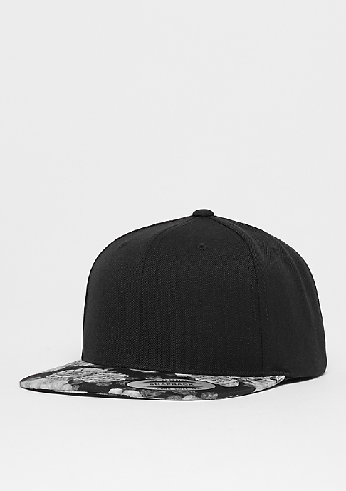 Flexfit Snapback-Cap Roses black/grey